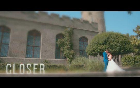 Свадебный клип Closer